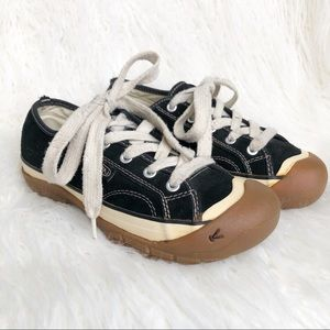 Keen Women's Coronado Black Suede Sneakers